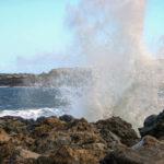 water, opspattende golven, Tenerife